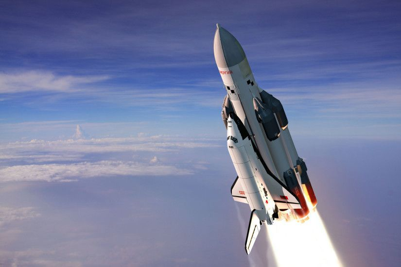 Space Shuttle Wallpaper Wide