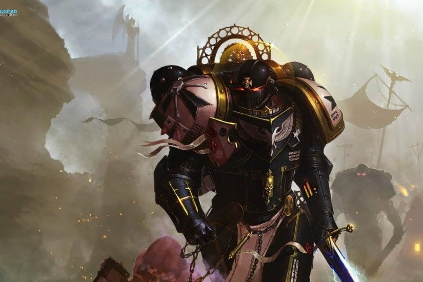 Warhammer 40000, Space Marines, Sword, Black Templars Wallpapers HD /  Desktop and Mobile Backgrounds