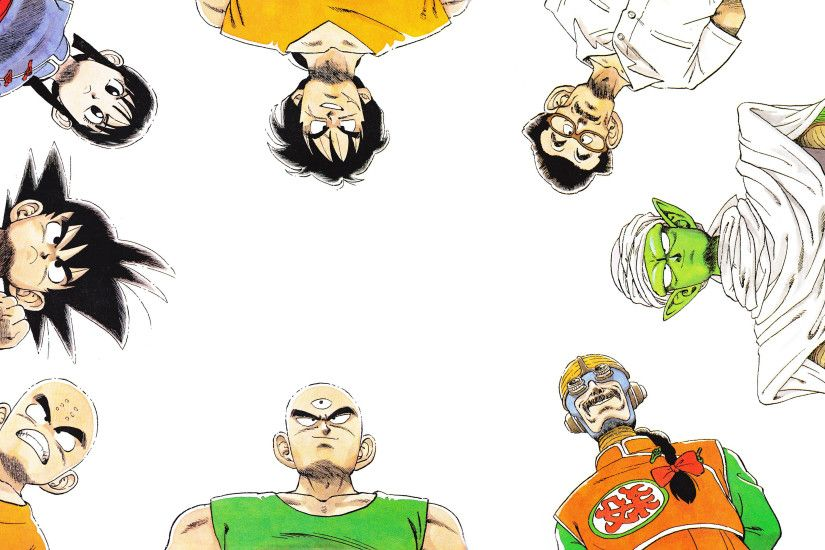 Dragon Ball Z, Son Goku, Krillin, Chi Chi, Tien Shinhan, Piccolo, Yamcha  Wallpapers HD / Desktop and Mobile Backgrounds