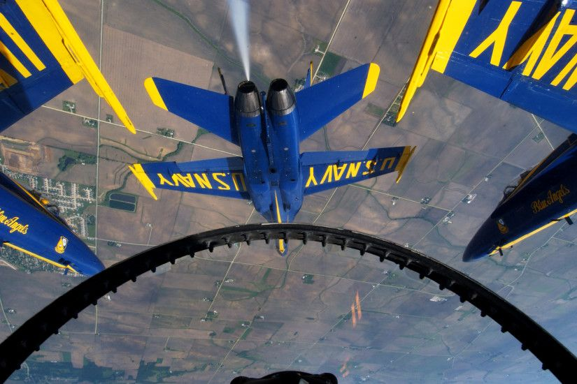 Planes F-18 Hornet Blue Angels Navy Military War Cockpits Aircraft