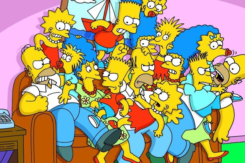 3840x2160 Bart simpson Marge simpson Homer simpson The simpsons Lisa simpson  .