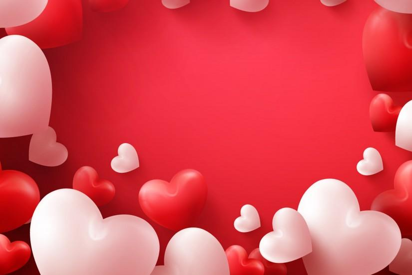 Wallpapers Valentine's Day Heart Many Red background 3840x2400