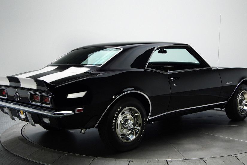 Black 1968 Chevrolet Camaro RS Classic Cars For Sale