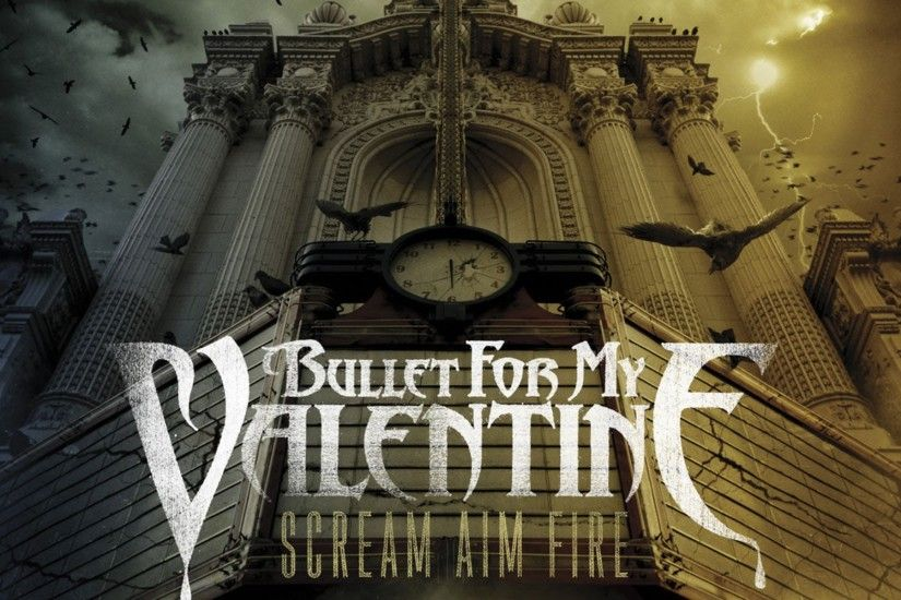 Wallpaper Bullet for my valentine, Palace, Column, Clock, Birds HD,  Picture, Image