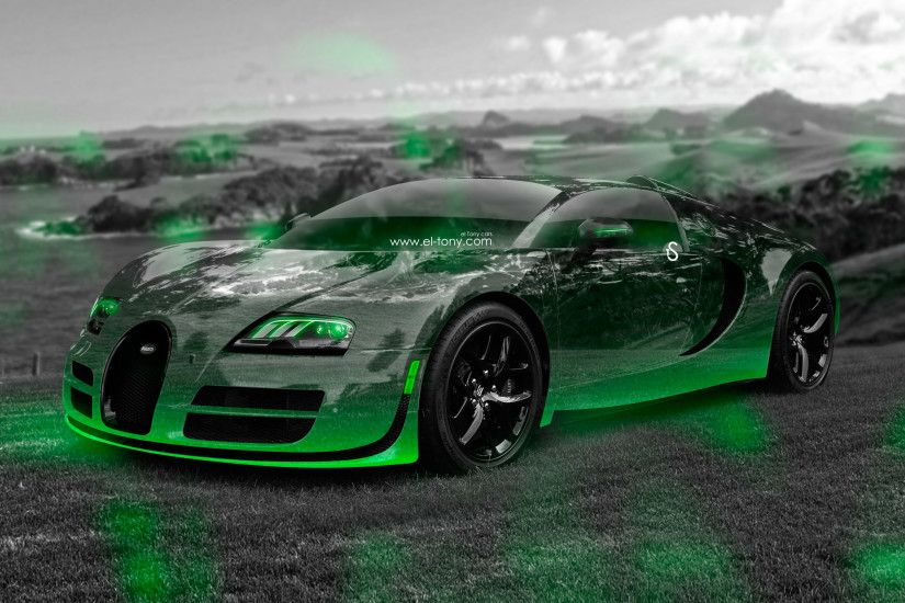 ... Bugatti-Veyron-3D-Crystal-Nature-Sea-Car-2016- ...