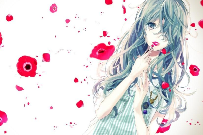 Wallpaper Anime Cute Girly