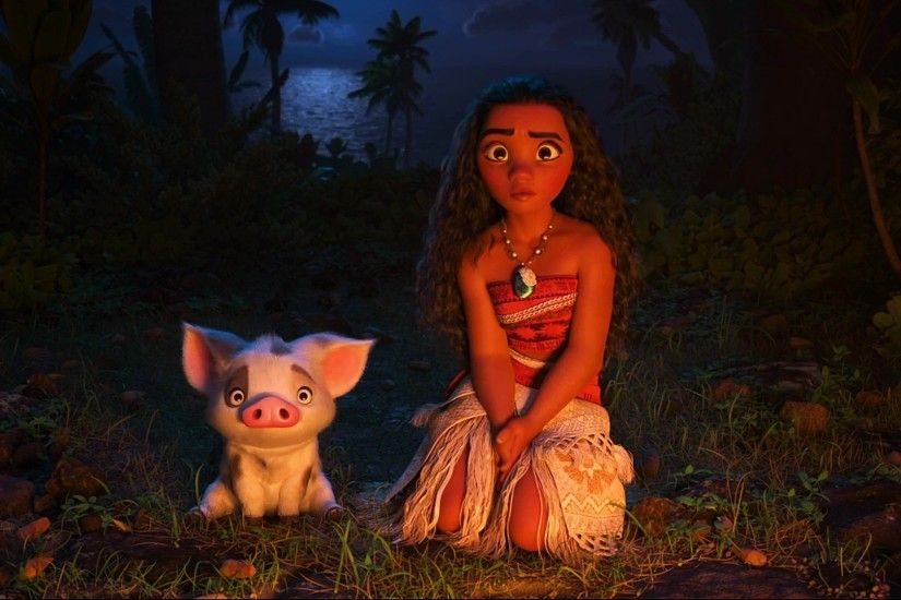 Disney Moana Animation Wallpaper HD
