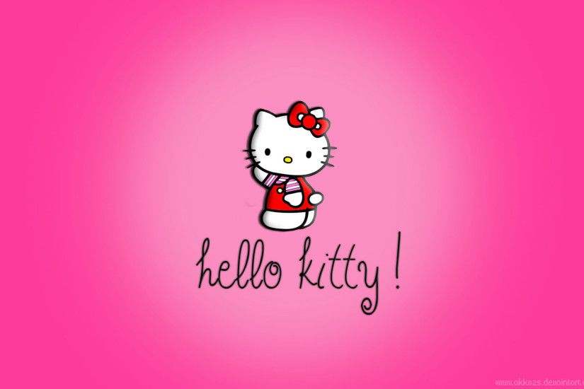 New wallpaper added at Background Wallpapers - Just another Hello Kitty  Full HD Wallpaper