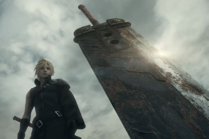 Blade Cloud Strife Final Fantasy VII Advent Children Weapons