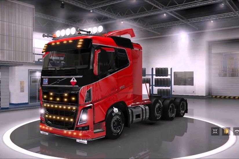 [ETS2]Euro Truck Simulator 2 Volvo FH16 2012 8×4 Type II - YouTube