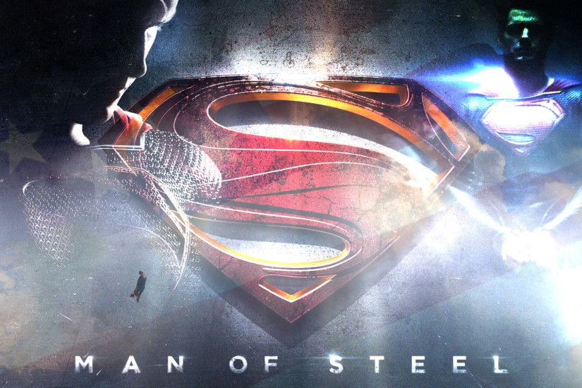 Movie - Man Of Steel Superman Logo Wallpaper