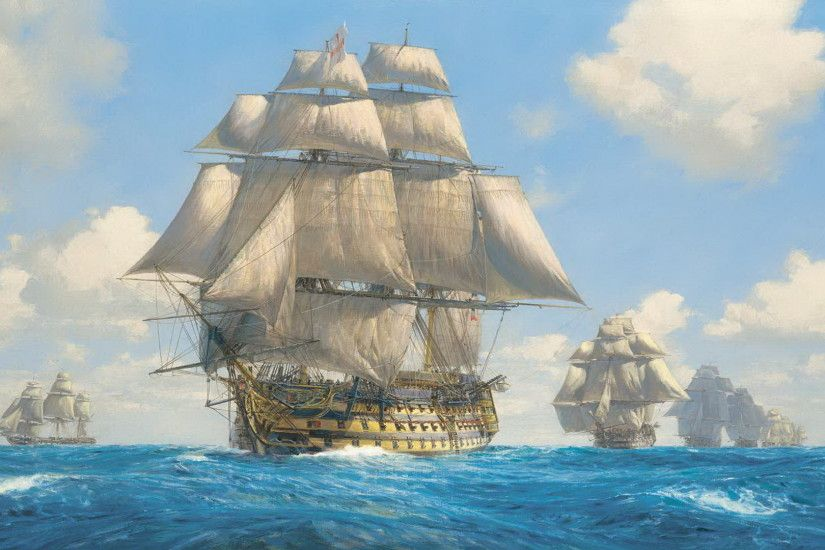 Man of War Ship Spanish | Download Wallpaper in high resolution for free.Desktop  Wallpapers