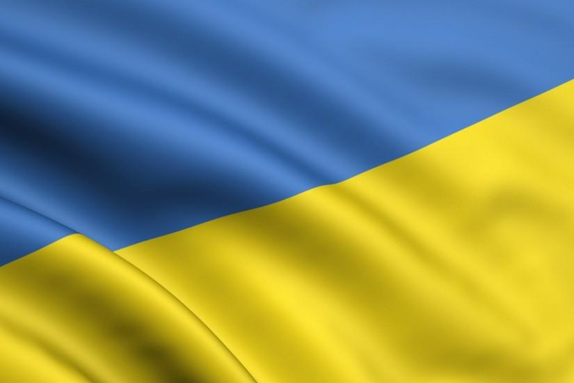 Preview wallpaper yellow, blue, flag, ukraine 1920x1080