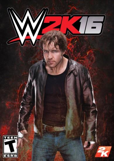 jkipper 22 4 WWE 2K16 Custom Cover Dean Ambrose by MilanRKO