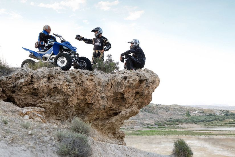 YAMAHA RAPTOR atv quad offroad motorbike bike dirtbike e wallpaper