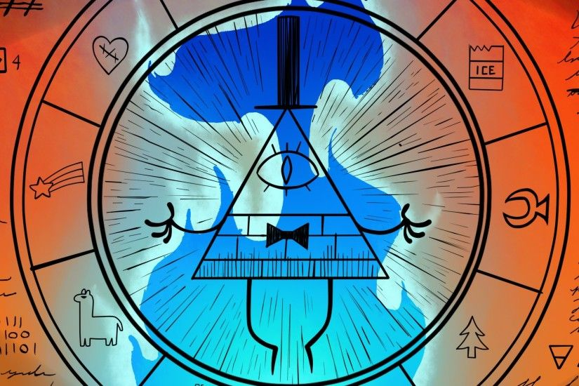 Download Bill Cipher Wheel Gravity Falls 2048 x 2048 Wallpapers - 4601564 -  gravity falls animation bill cipher | mobile9