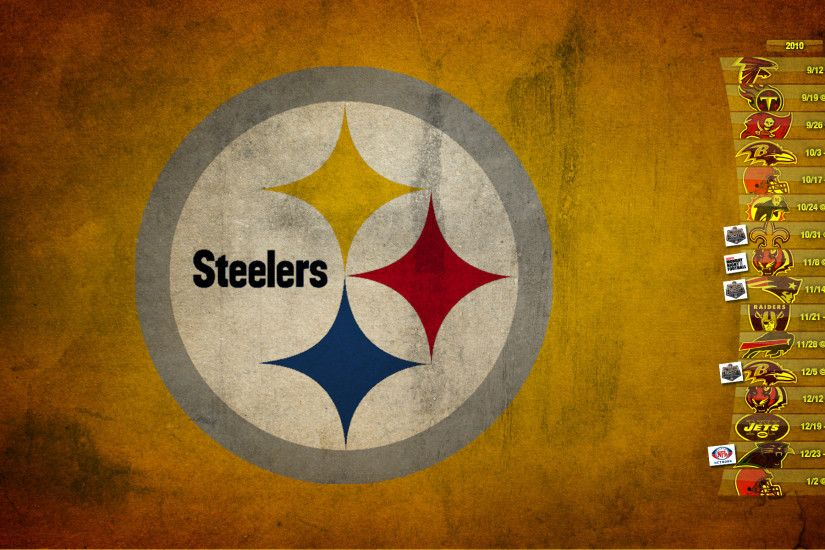 Pittsburgh Steelers Logo Wallpaper HD Download.