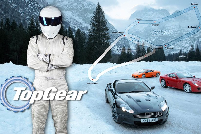 The Stig, Supercars & Snow - Top Gear 1920x1080 wallpaper