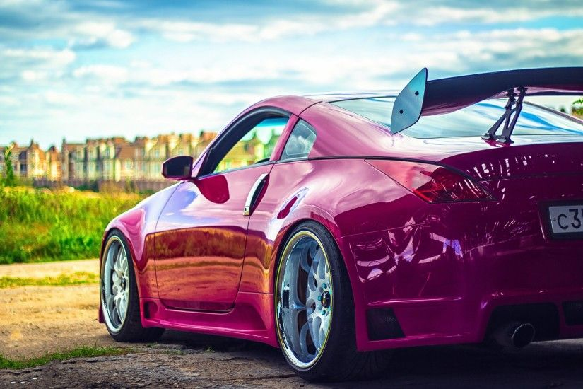 Tuned Nissan 350z