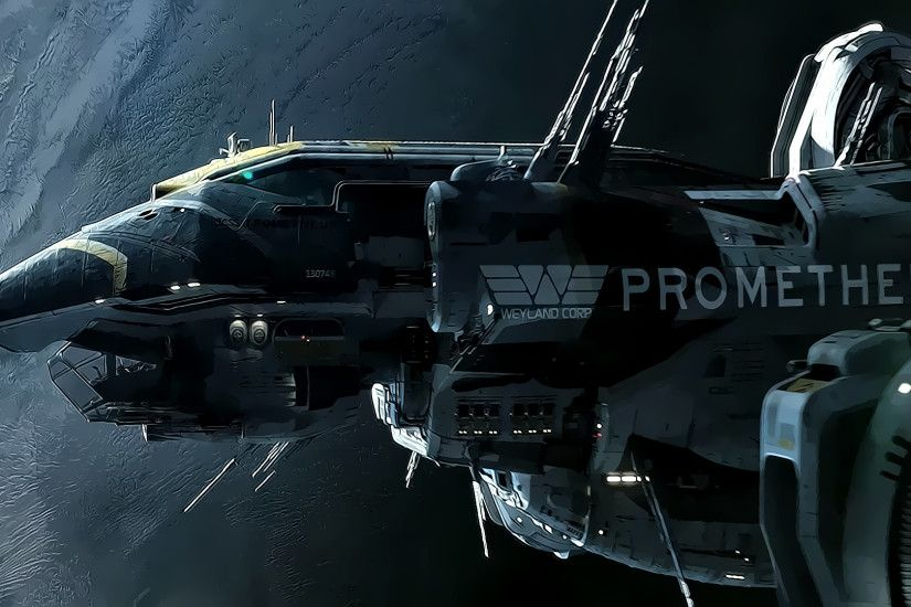 Prometheus Wallpaper - Prometheus (2012 film) Wallpaper (33017402 .