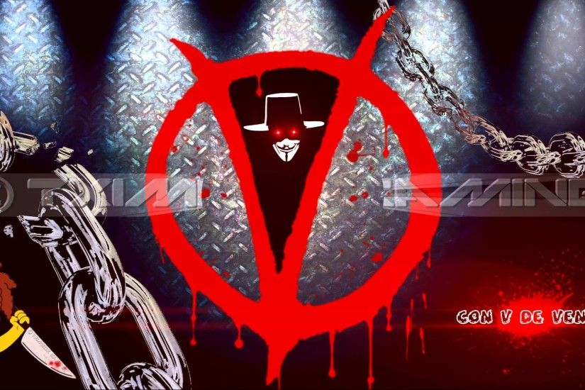 [Photoshop CS6] - Wallpaper HD 1920x1080 (Edited w/ After Effects CS4) - V  for Vendetta - YouTube