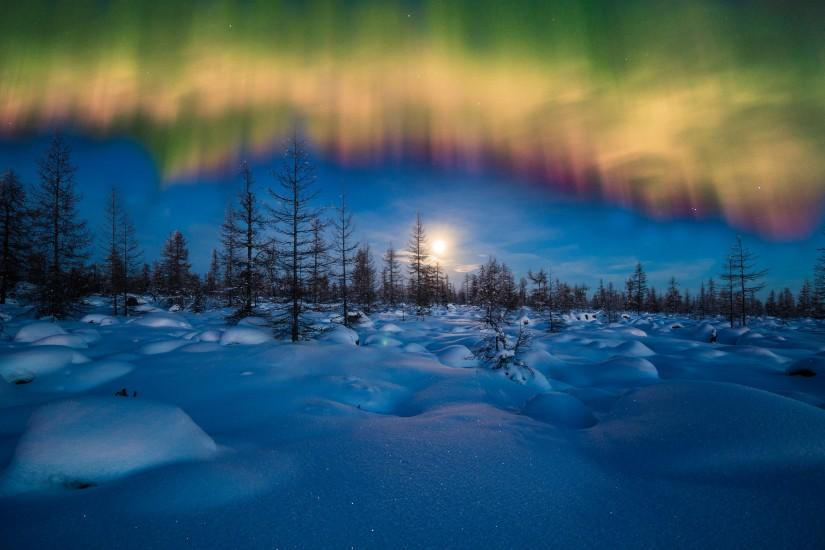 aurora borealis wallpaper 2560x1600 for tablet