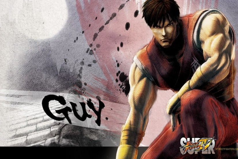 Super Street Fighter 4 Guy Wallpaper