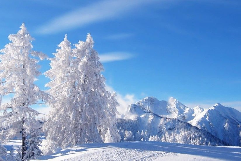 Image of: Winter nature backgrounds Wallpapercave Winter Nature Wallpaper  Desktop Creative Market Winter Nature Wallpaper