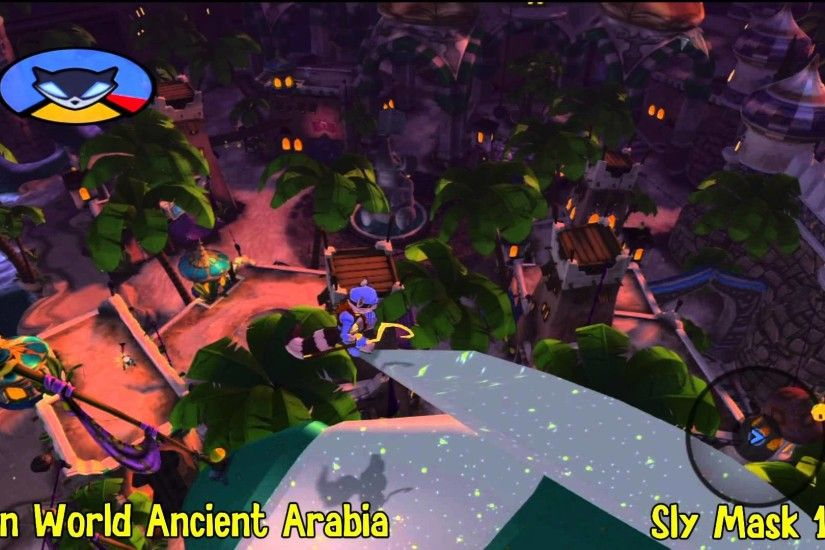Sly Cooper Thieves in Time: Episode 5 - Ancient Arabia Sly Mask Locations -  HTG - YouTube