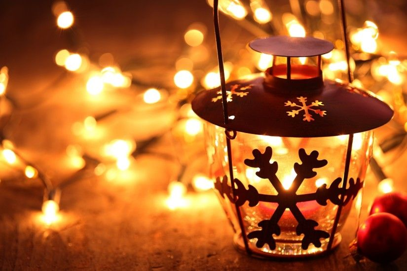 snowflake lantern on wooden floor with yellow candle light, christmas hd  wallpaper widescreen, desktop