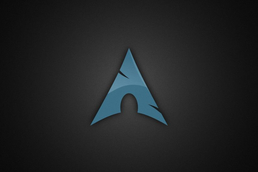 #black background, #Linux, #Arch Linux, wallpaper