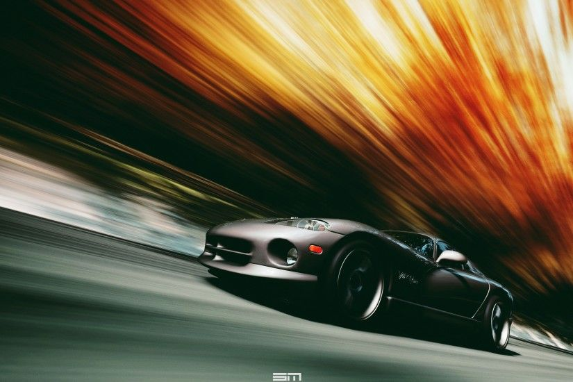 VIPER, Dodge Viper, Car, Motion Blur, Black Cars Wallpapers HD / Desktop  and Mobile Backgrounds
