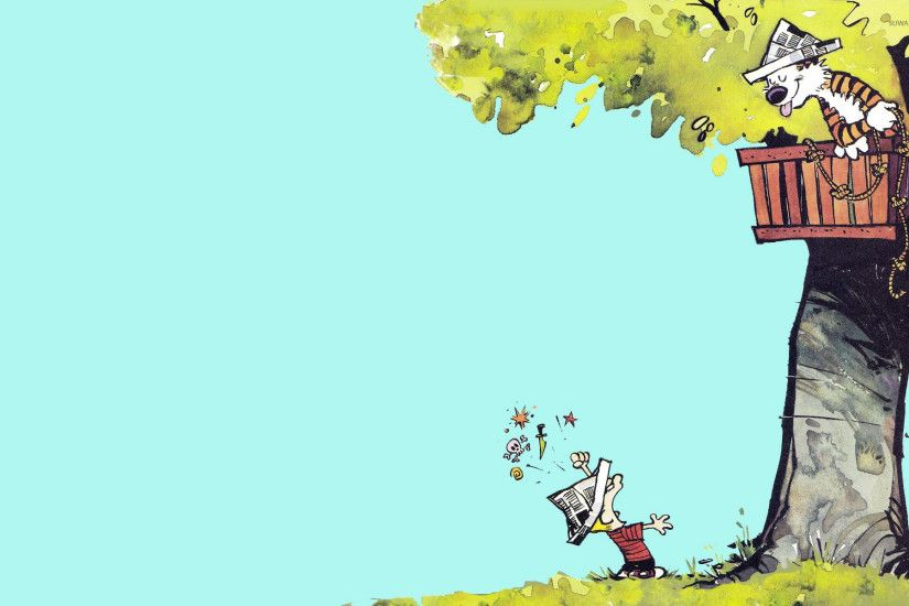 Calvin and Hobbes [2] wallpaper 1920x1200 jpg