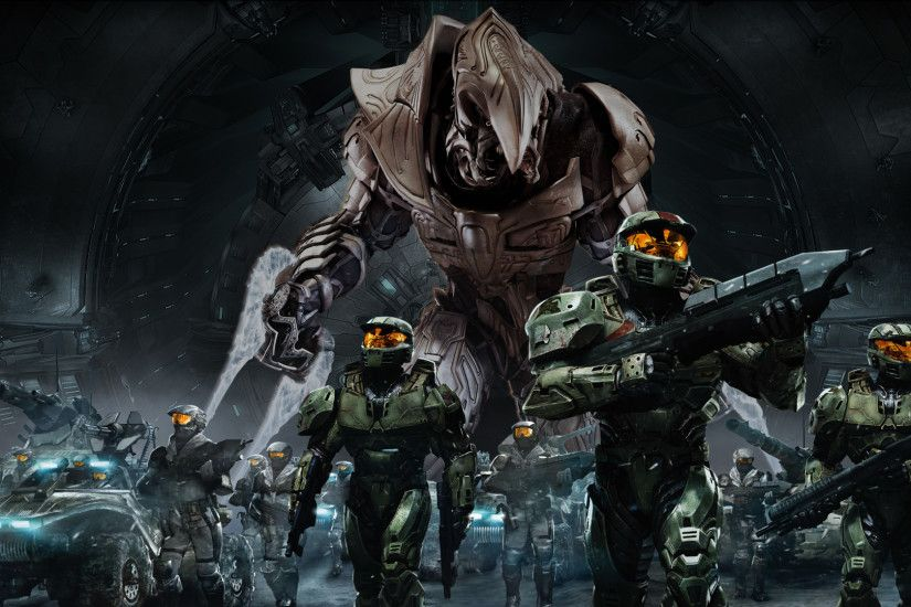 Free halo wallpaper background