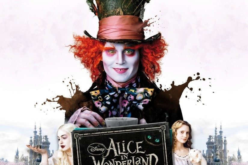 Mad Hatter Wallpaper Source · Wallpaper resolutions