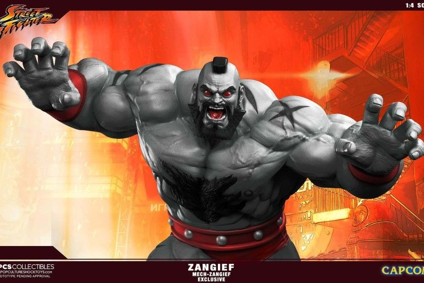 PCS Street Fighter Zangief Statue Mech 004