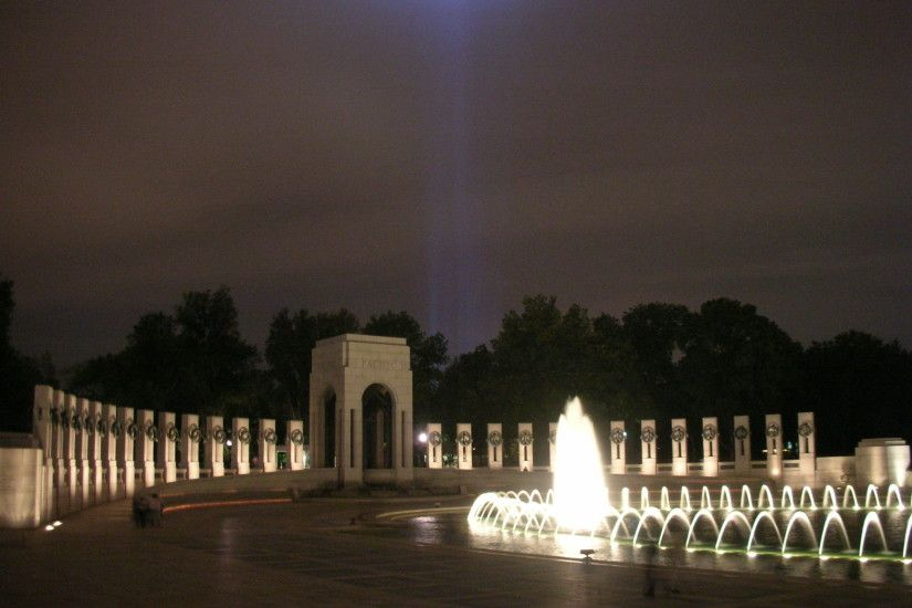 World War II Memorial - a different view