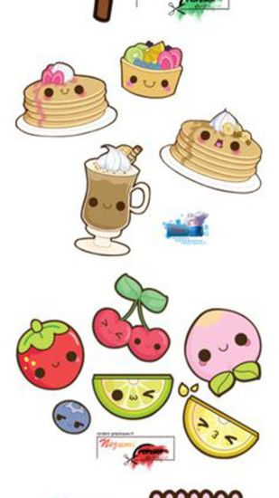 Cute Cartoon iphone wallpapers.