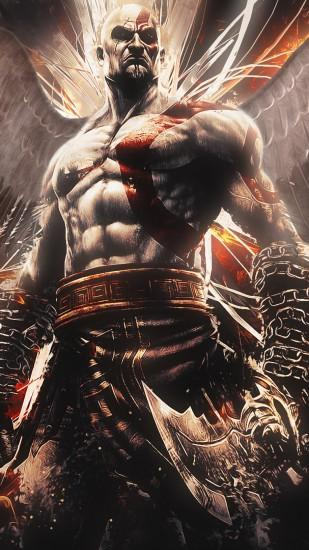 Preview wallpaper god of war, ascension, kratos 1080x1920