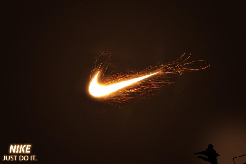Nike Just Do It Fire Football 1920x1080 HD Sport