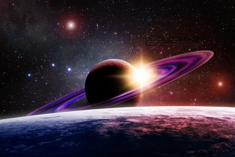 Saturn Rising Hd Wallpaper Amazing+ / Wallpaper Space 74837 high .