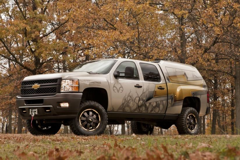 Chevrolet Silverado 2500 HD Realtree Concept 2011 wallpapers (1920 x 1440)