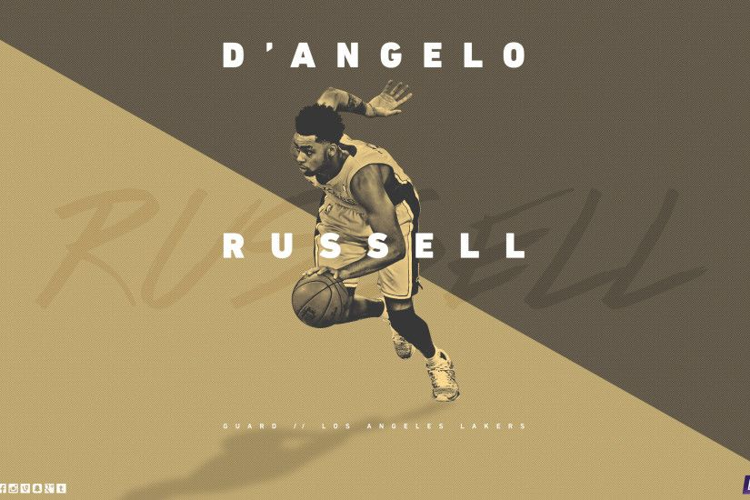 D'Angelo Russell LA Lakers 2015-2016 Wallpaper