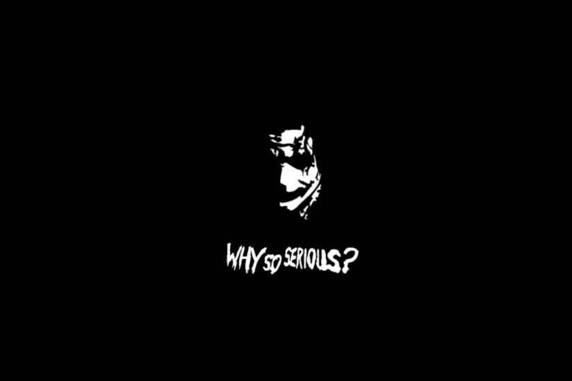 Download Wallpaper why so serious ... Joker Why So Serious Wallpaper ...