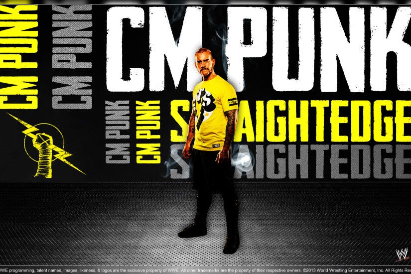 CM Punk - Wallpaper. by Aakash07 ...