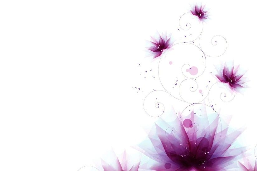 Light Purple Floral Background - Viewing Gallery