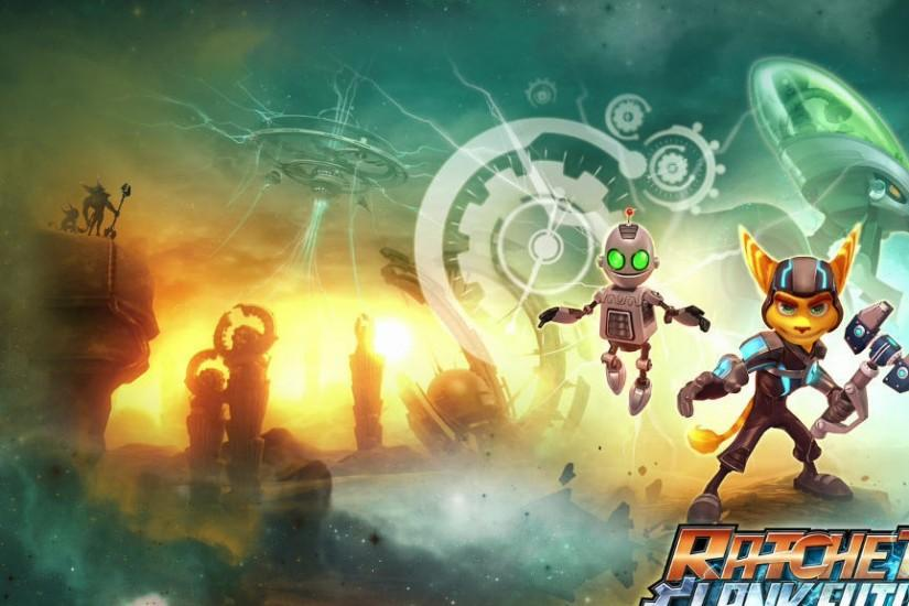 ratchet and clank future a crack in time wallpaper