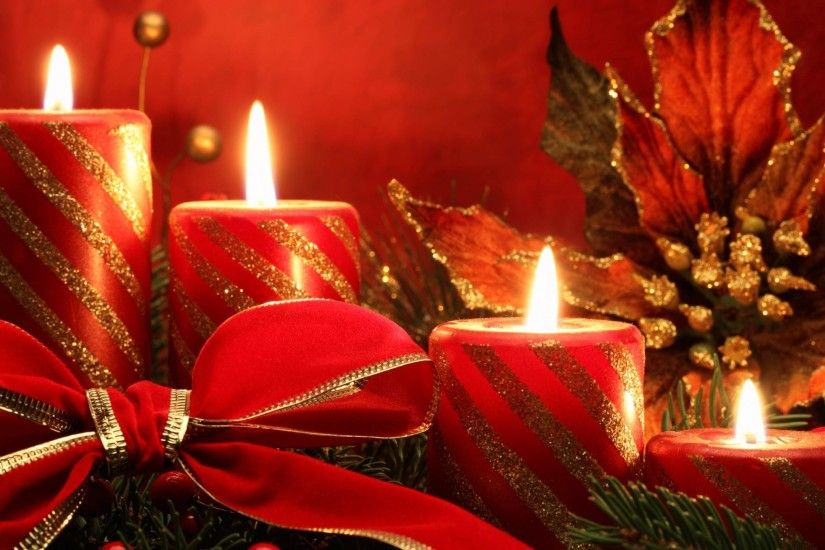 2560x1440 Wallpaper new year christmas holiday candles needles