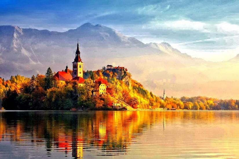 Beautiful+Autumn | Beautiful Autumn Castle | Wallpapers, HD backgrounds