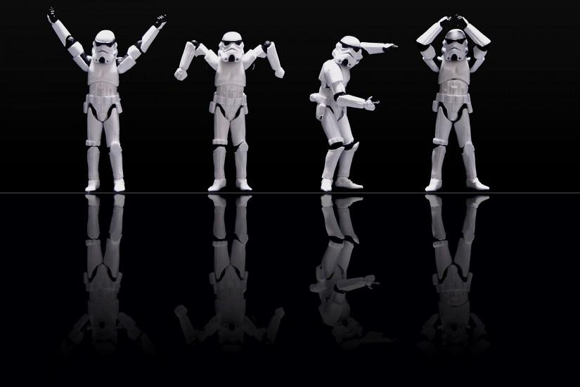 Black Background Star Wars Stormtroopers Wallpaper 12694 ...